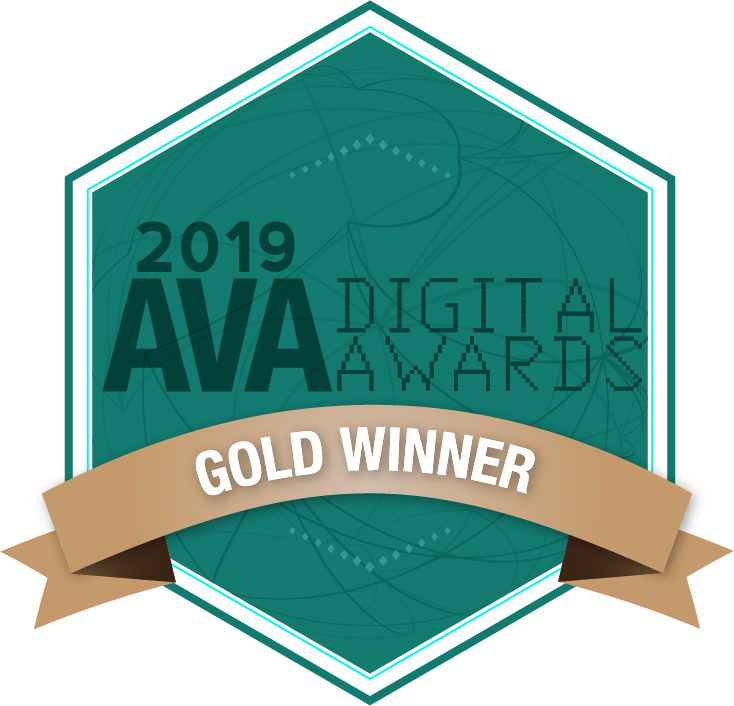 AVA Digital Awards - Gold Winner